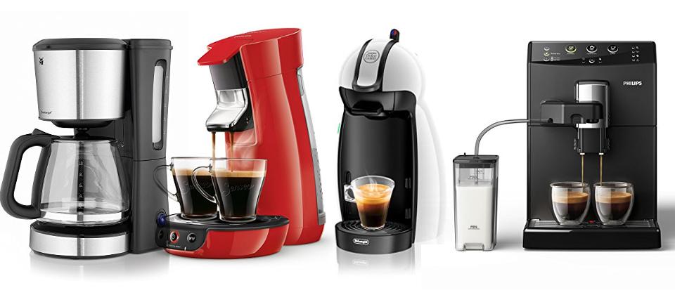 Kaffeemaschinen-Vergleich